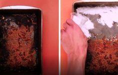 Come eliminare le incrostazioni di bruciato sulle teglie da forno