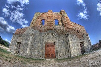 #SanGalgano #Siena #Architecture
