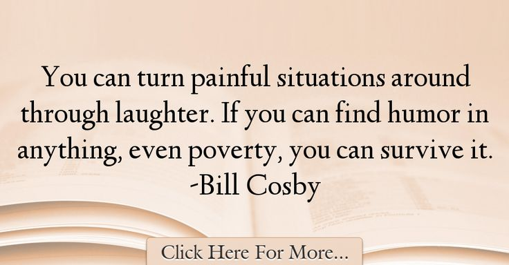 Bill Cosby Quotes About Humor - 36834