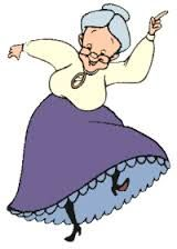 Výsledek obrázku pro kreslená babička