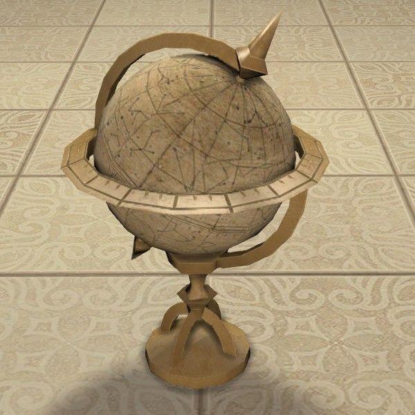 Star Globe Globe Table Top Stars