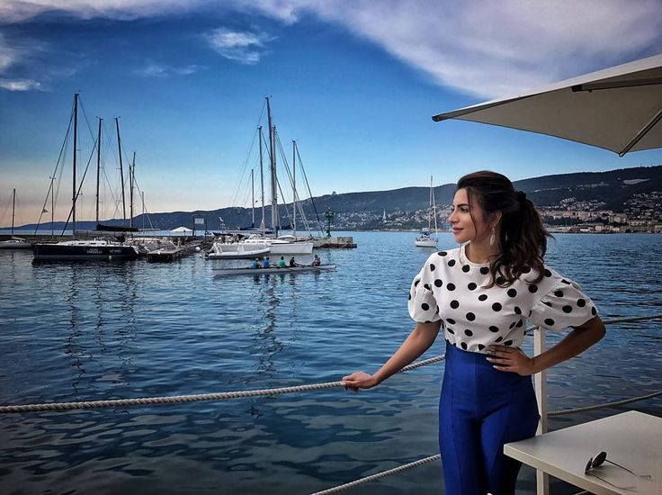 "8,695 Likes, 54 Comments - Shama Sikander (@shamasikander) on Instagram: ""Indulge in the serenity ❤ #peace #italy #blue #traveldiaries"""