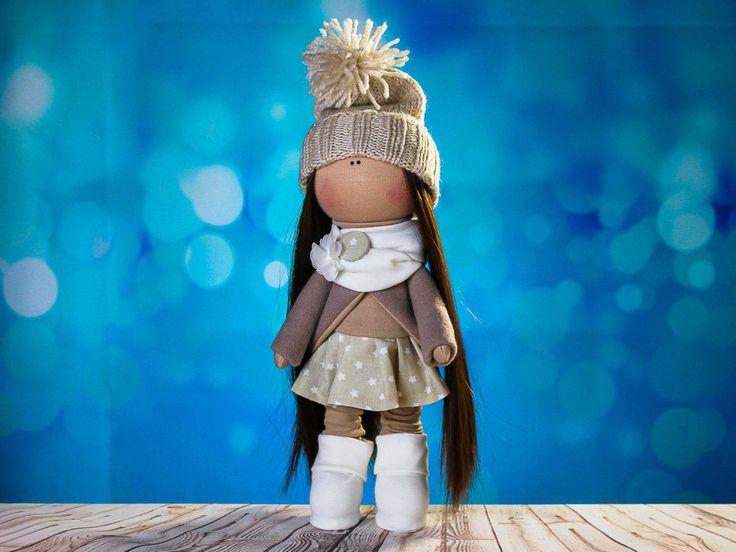 Doll Tina. Doll tilda. Сollection Fairy doll. Textile doll. Soft toy. Cute gift. Interior doll. Rag doll. Soft toy. Handmade by OwlsUa on Etsy