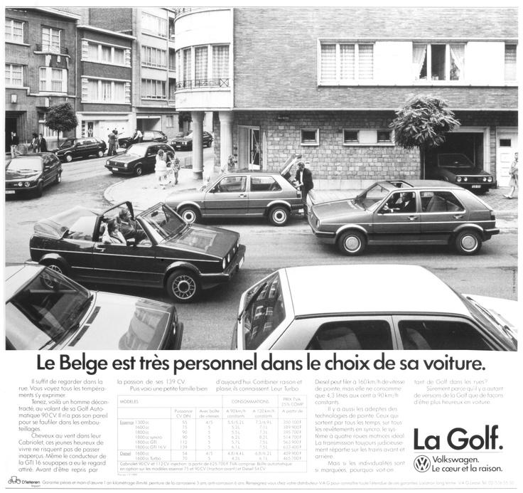 Le Belge est très personnel dans le choix de sa voiture.
