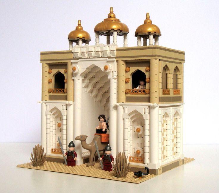 LEGO Prince of Persia MOC - Alamut Gate - http://ift.tt/1yNO6rW