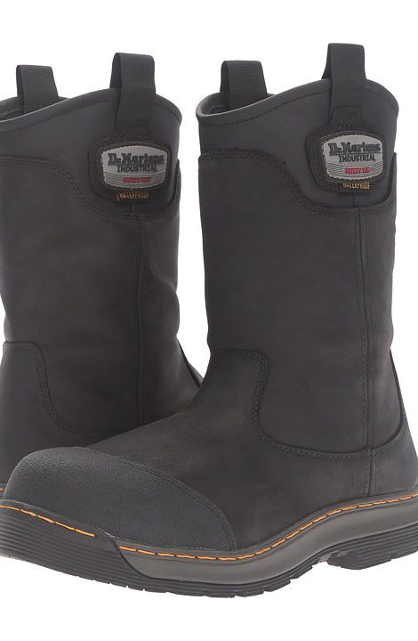 Dr. Martens Work Rush Electrical Hazard Waterproof Composite Toe Rigger Boot (Black Connection Waterproof) Men's Work Pull-on Boots - Dr. Martens Work, Rush Electrical Hazard Waterproof Composite Toe Rigger Boot, R21059001-001, Footwear Boot Work Pull-on, Work Pull-on, Boot, Footwear, Shoes, Gift - Outfit Ideas And Street Style 2017