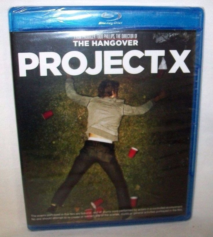 Project X The Hangover Blue-Ray DVD