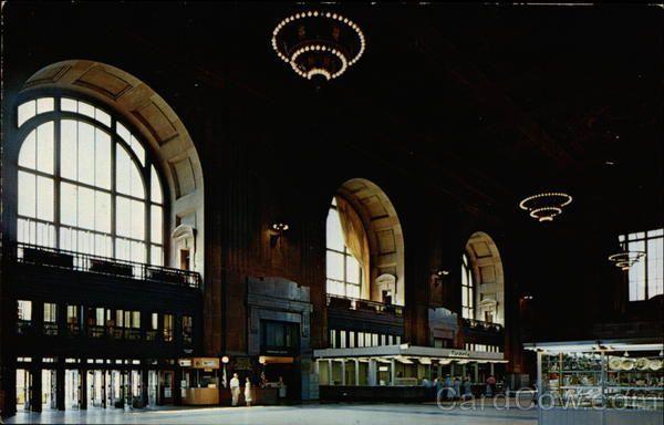 Interior of Union Station Kansas City Missouri