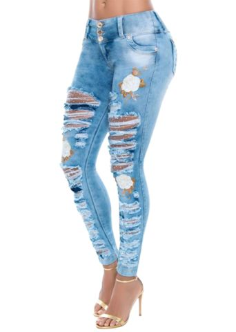 Charleston Fishnet Jean