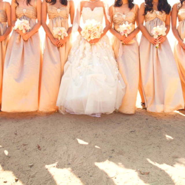 Surround yourself with friends Bridesmaids Wedding