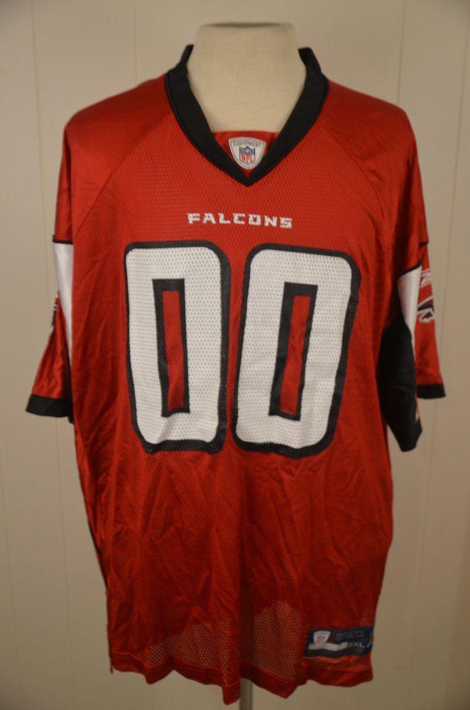 eddd64769 Reebok Atlanta Falcons Jersey  00 NFL Jersey Adult XXL Red (eBay Link)