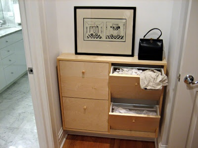 Excellent ikea hacker idea shoe cabinet used as laundry hamper laundry love pinterest - Laundry hampers for small spaces plan ...