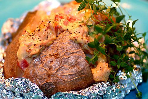 Röror till bakad potatis