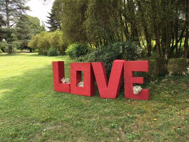 Décoration Extérieur, Lettres géantes, Love, parc