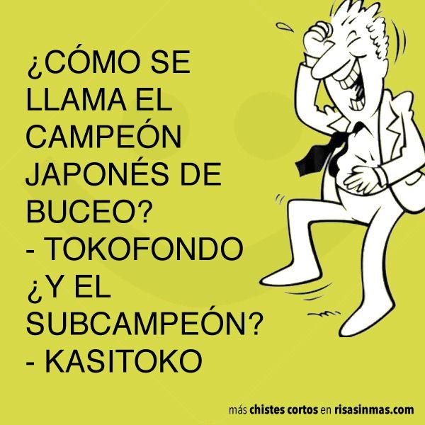 Campeón japonés de buceo