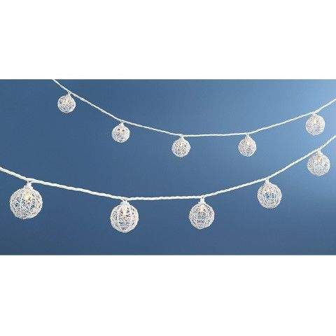 Room Essentials™ Metal Wire Globe String Light, $14.99 At Target Part 48