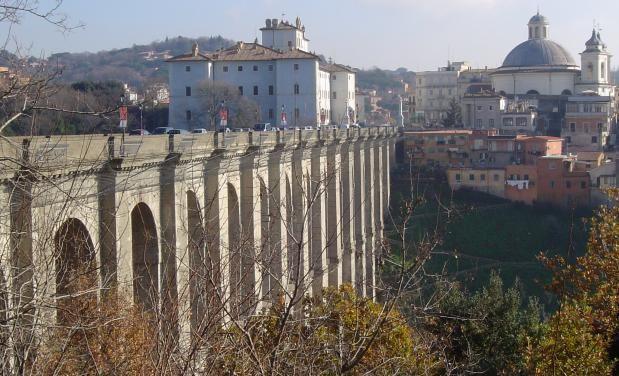 Ariccia - Ponte monumentale