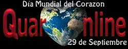 29 de Septiembre, Día Mundial del Corazón, iniciativa de la Federación Mundial del Corazón. http://www.quaronline.com/