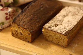 Förra helgen bakade jag två olika sorters vörtbröd. Jag letade upp flera olika sorters recept på nätet som jag gjorde om till glutenfritt....