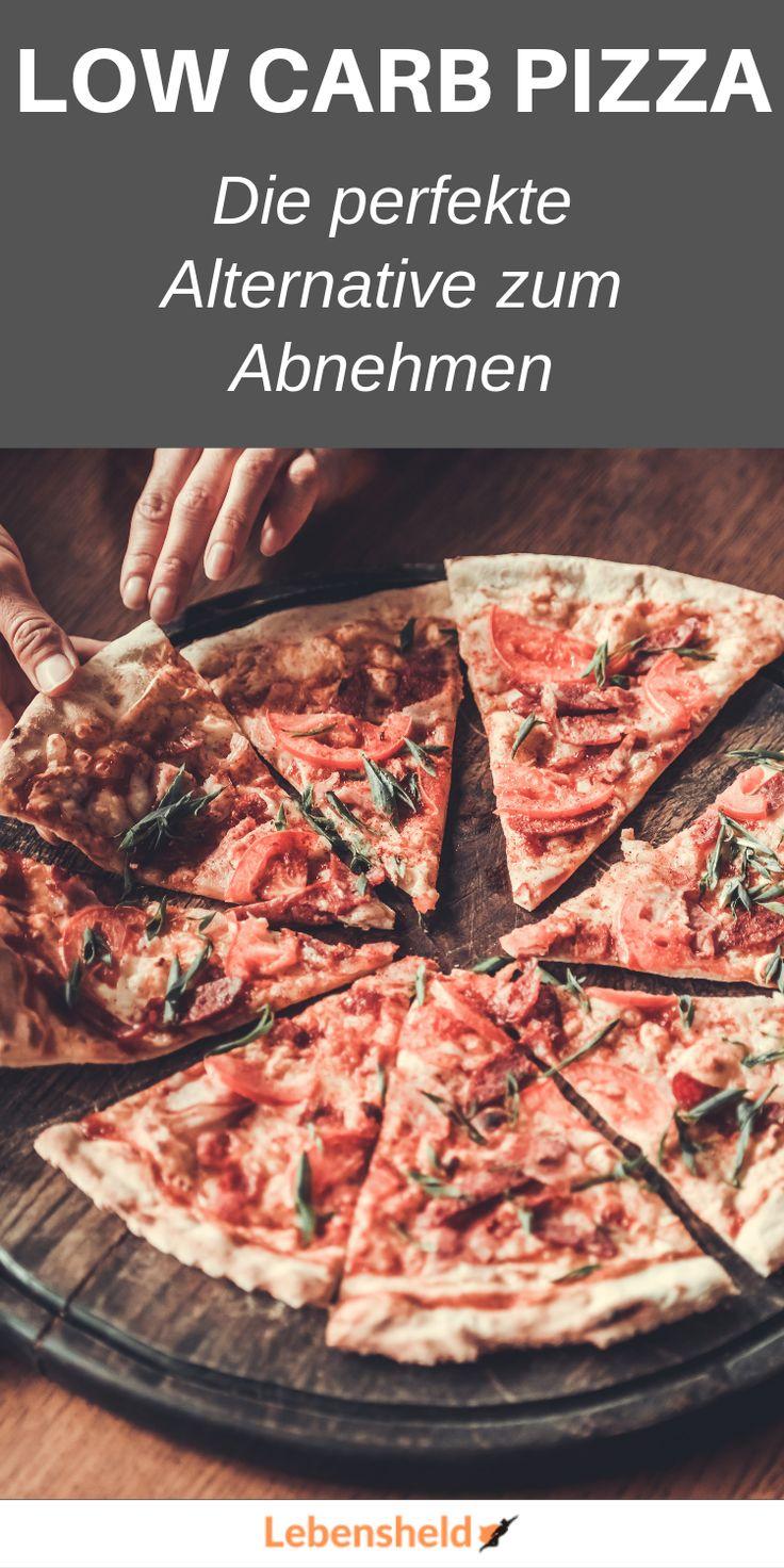 Low carb Pizza zum Abnehmen (Rezept