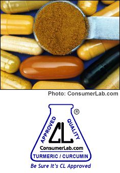 Turmeric and Curcumin Supplements and Spices Reviewed by ConsumerLab.com