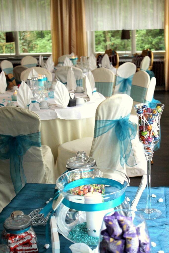 Die Candybar . Eine tolle Idee anlässlich einer Hochzeit im Seeschloss am Bötzsee .
