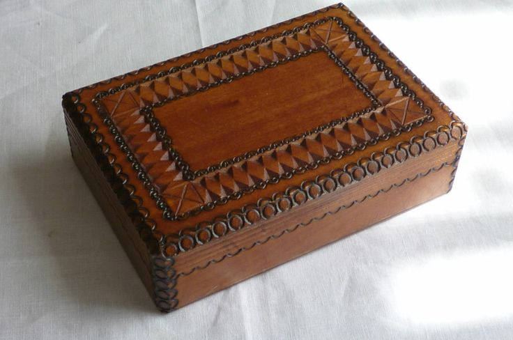Vintage Wooden Jewelry Boxes