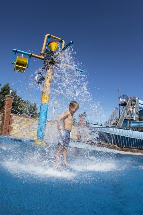 Lady's Mile Touring & Camping Park, Shutterton, Dawlish, Devon, UK, England. Holiday. Travel. Accommodation. #AroundAboutBritain. Campsite. Swimming Pool. Children Welcome. Beach Nearby.