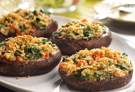 ... Portobellos Recipe, Stuffed Portobello Mushrooms, Belly Recipes