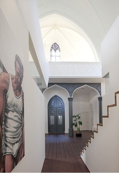 Originally Built In The Historical St. Jakobus Church In Utrecht, The  Netherlands Was Converted Into A Spectacular Home By ZECC Architects.