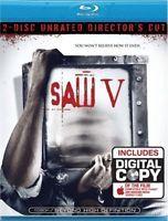 Saw V  DVD Blu-ray Scott Patterson, Costas Mandylor, Tobin Bell, Betsy Russell,