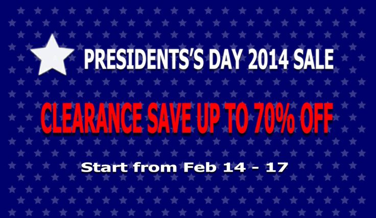 presidents day sale amrican flag
