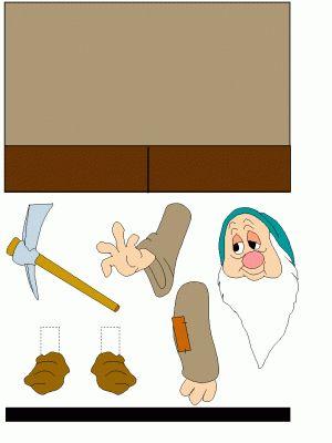 Maken op een toiletrol