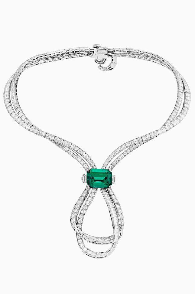 Émeraude en Majesté — новые драгоценности Van Cleef & Arpels | Украшения | VOGUE