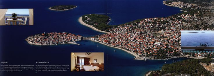 https://flic.kr/p/KWDoCJ | Dobro dosli u/ Welcome to Primosten, Grad plaza/ A Town of Beaches; 2015_3, Sibenik-Knin co., Croatia