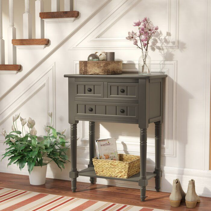 Wedgewood 23 6 W Console Table In 2020 With Images Farmhouse