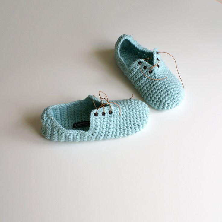 Crochet Slippers Unisex DIY   Talleres de calceta en nuestra tienda Bordar Vigo
