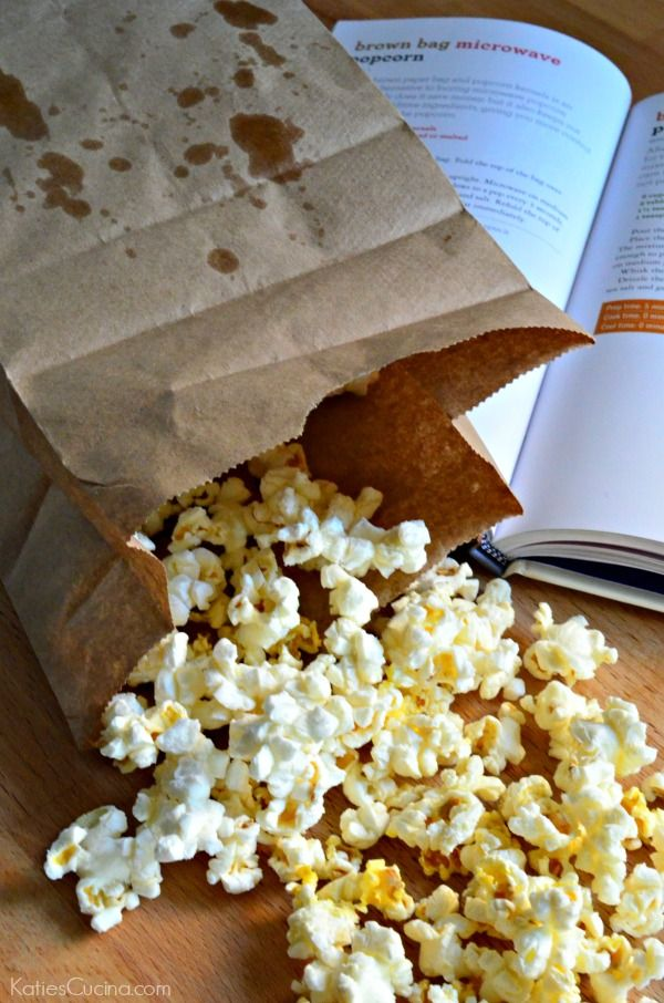 Learn how easy it is to make your own Brown Bag Microwave Popcorn at home with no mystery chemicals to worry about!