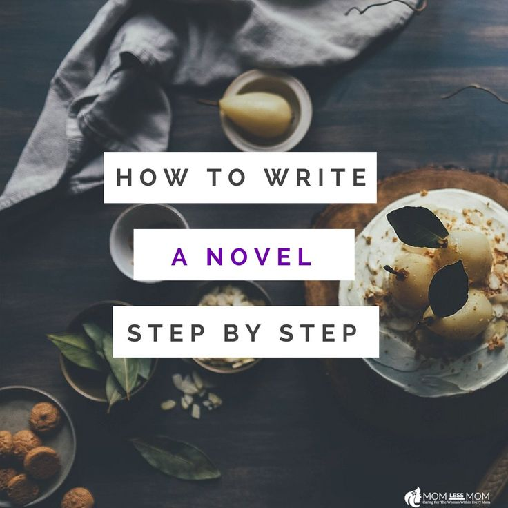 Here is how to write a novel step by step! in 2020 Novel