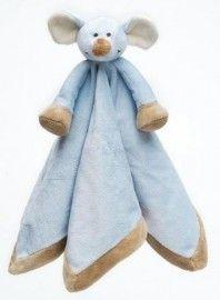 Mevrouw Schaap Baby-/Peutercadeaus: Teddykompaniet Knuffeldoekje Muis