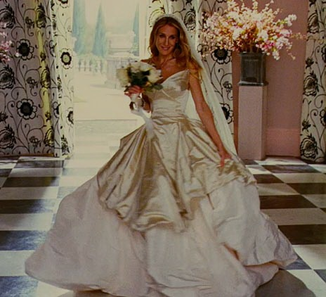 SJP in Sex in the City wearing Vivienne Westwood. The Gown of all gowns