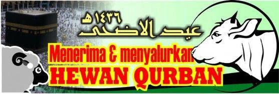 Contoh Banner Qurban - Our Families Journey