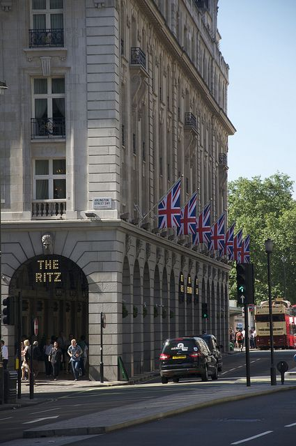 The Ritz,  Piccadilly, London  #RePin by AT Social Media Marketing - Pinterest Marketing Specialists ATSocialMedia.co.uk