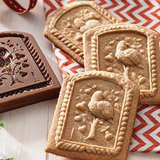 Gingerbread Springerle Shortbread: King Arthur Flour