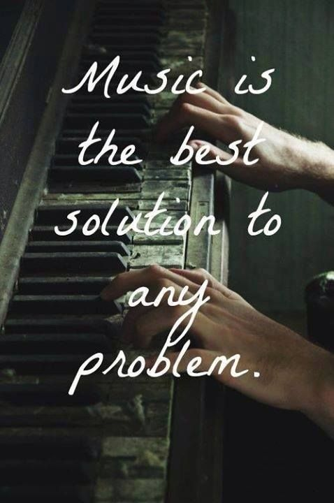 Tumblr -Quotes- Music saved my life<3