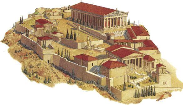 Antigua Acropolis de Atenas/Ancient Acropolis of Athens