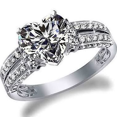 Best 25 Heart shaped engagement rings ideas on Pinterest Heart