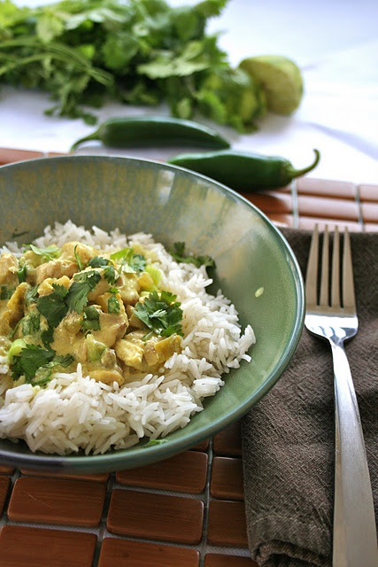 Coconut Lime Chicken.  Gluten and dairy-free!
