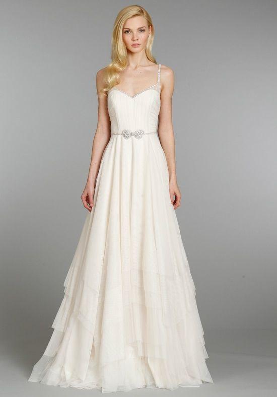 Ivory Wedding Dress with Straps