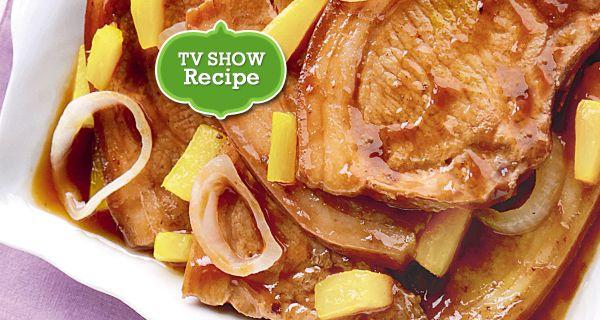 Pineapple Pork Steak | Del Monte Philippines http://www.delmonte.ph/kitchenomics/recipe/pineapple-pork-steak-0